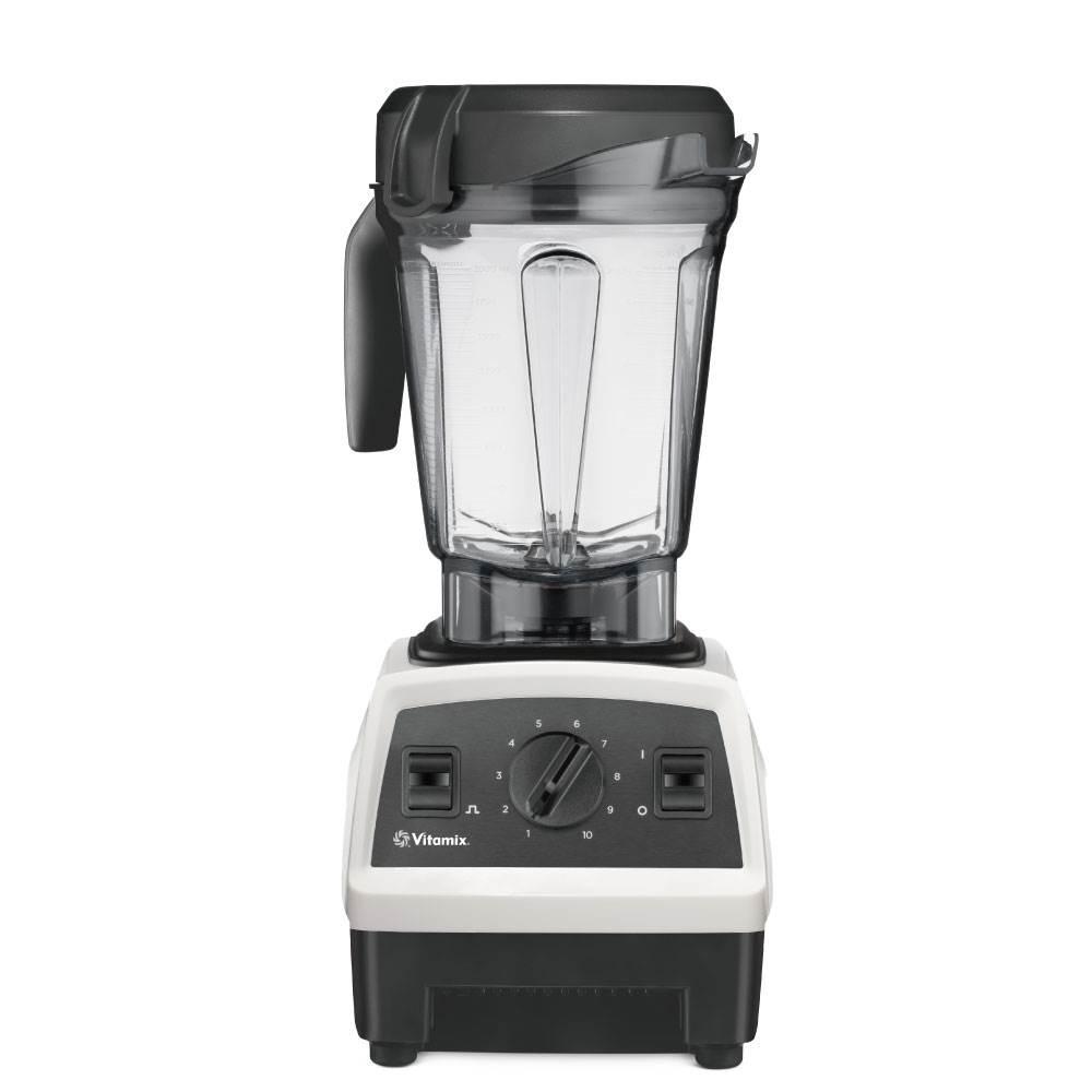 Vitamix調理機-E320-白色-正面-2公分容杯