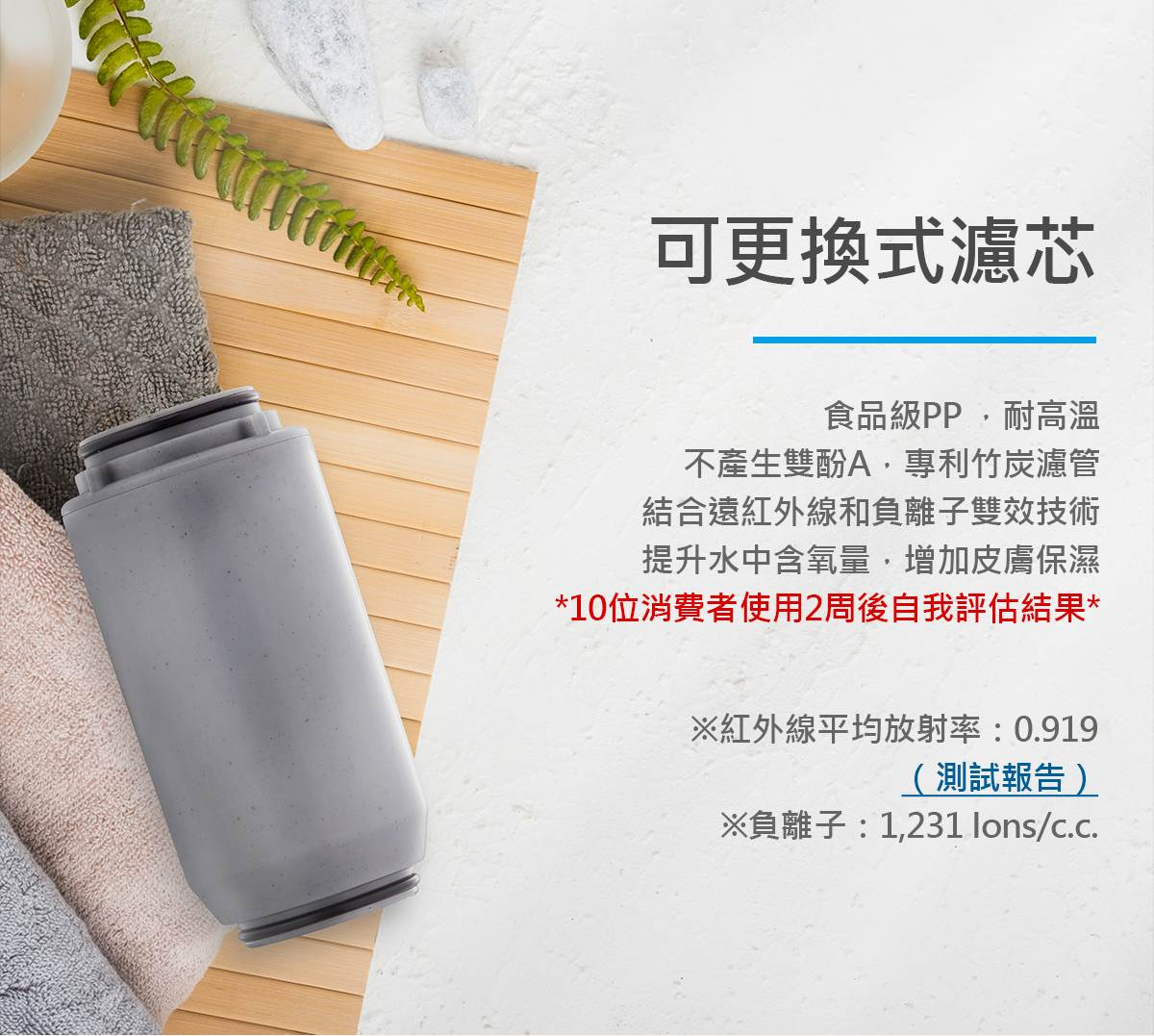Vitaway-森林SPA沐浴過濾器-11-可更換式濾芯
